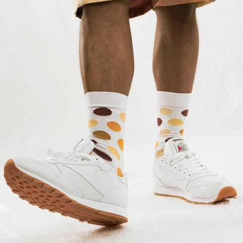 SKIN TYPES PRINTED SOCKS