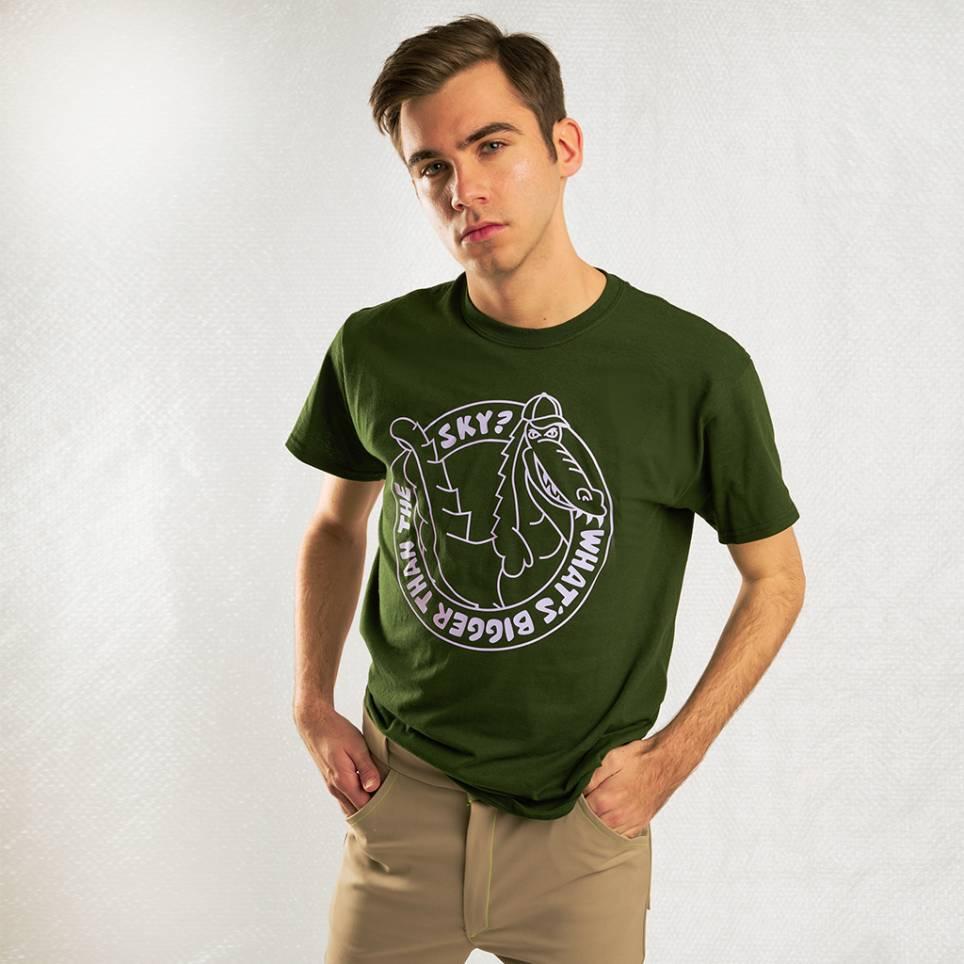 Crocodile T-shirt Green