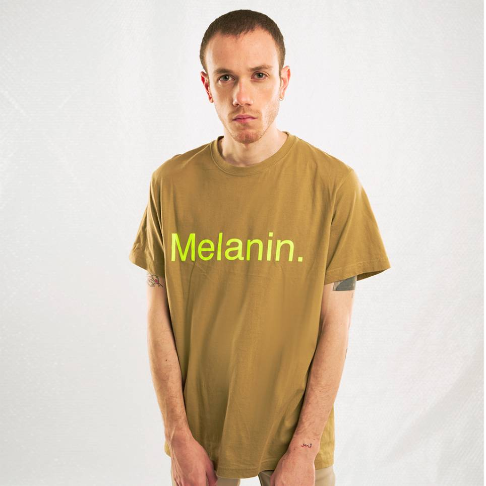 MELANINE BROWN T-SHIRT