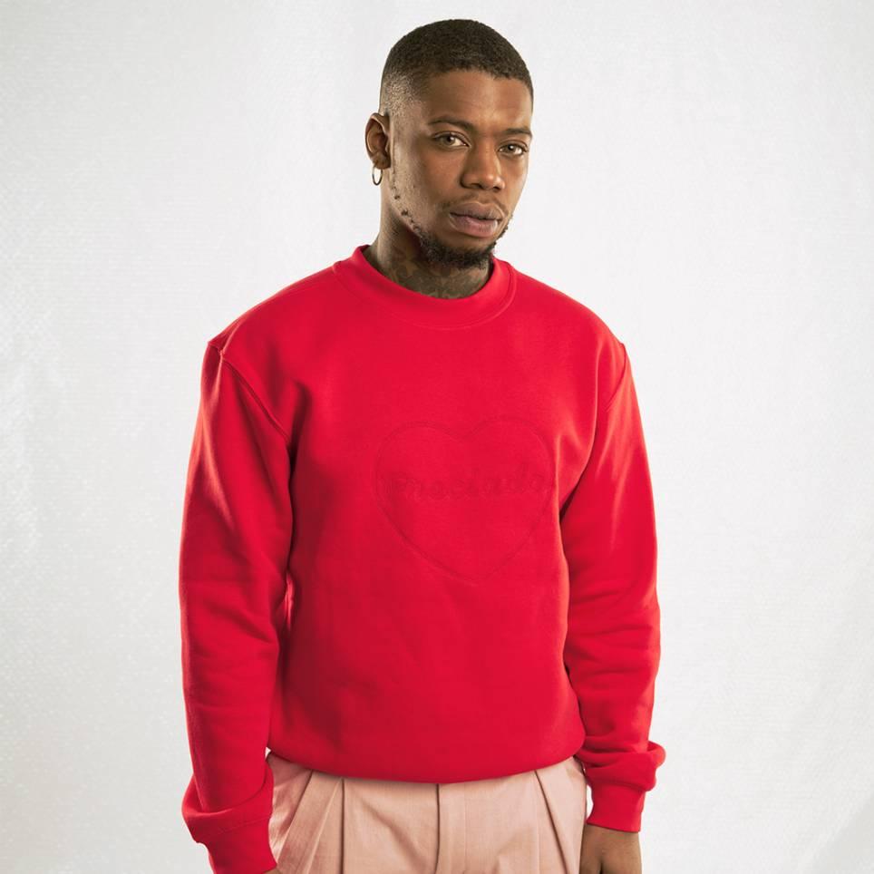PRECIADO RED SWEATER