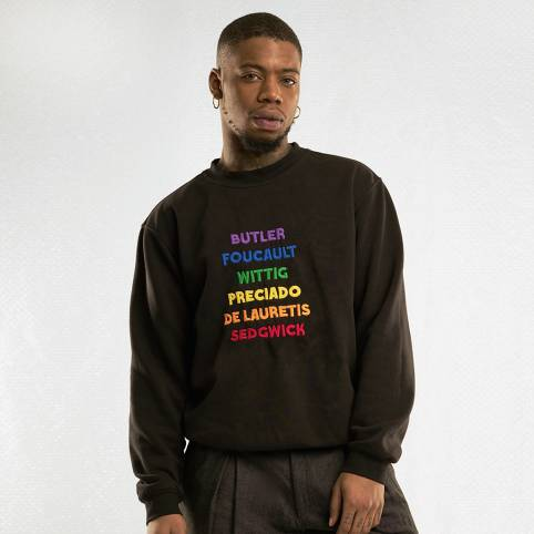 THEORIST BLACK SWEATSHIRT