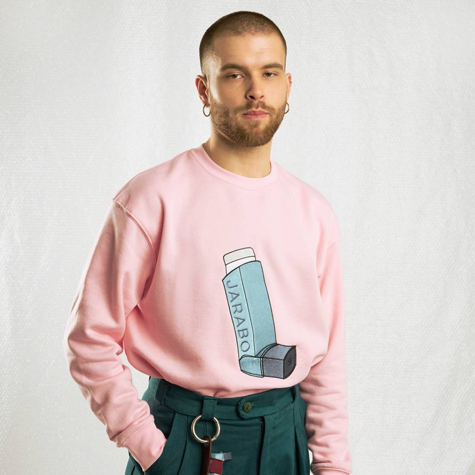PINK INHALER SWEATSHIRT