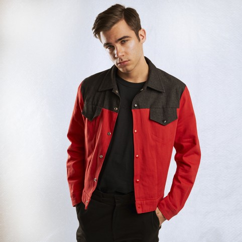 RED & BLACK JACKET
